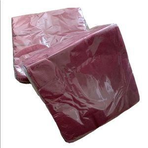 "Other - Plum Purple 200 Paper Luncheon Napkins 13"" by 13"""